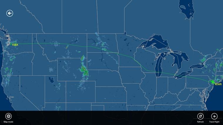 FlightAware screen shot 5