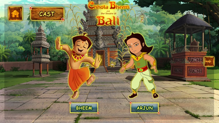Chhota Bheem and The Throne of Bali screen shot 1