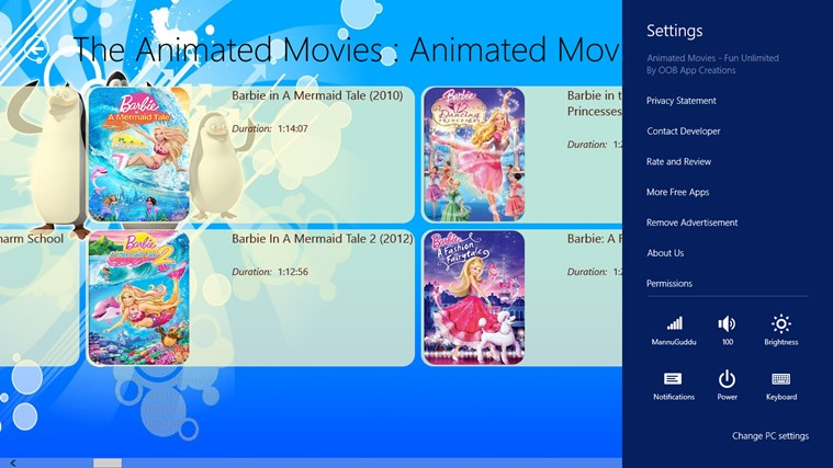 Animated Movies - Fun Unlimited screen shot 5