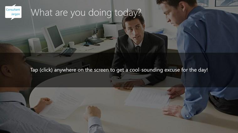Consultant Jargon screen shot 1