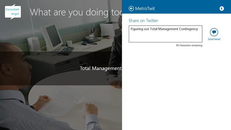 Consultant Jargon screen shot 5