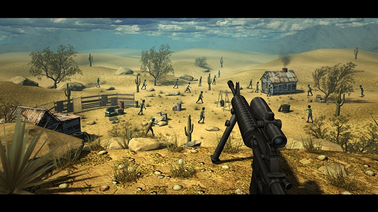 Last Hope - Zombie Sniper 3D screen shot 1