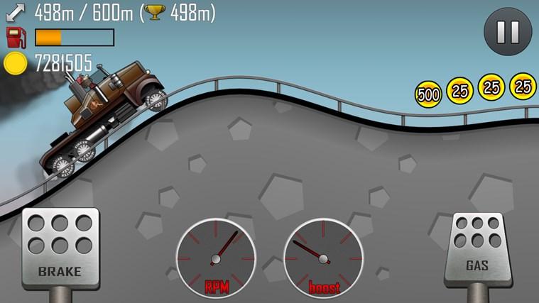 Hill Climb Racing capture d'écran 1