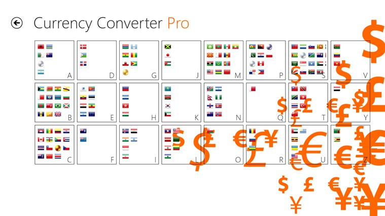 Currency Converter Pro צילום מסך 5