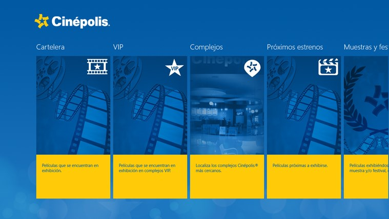 Cinépolis captura de pantalla 7