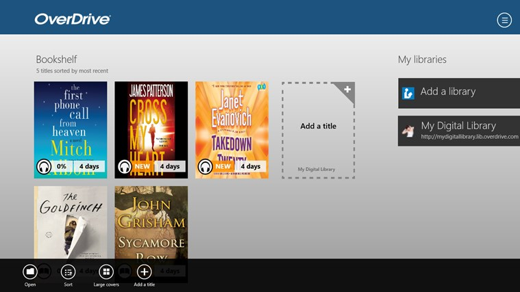 OverDrive - Library eBooks & Audiobooks screen shot 1