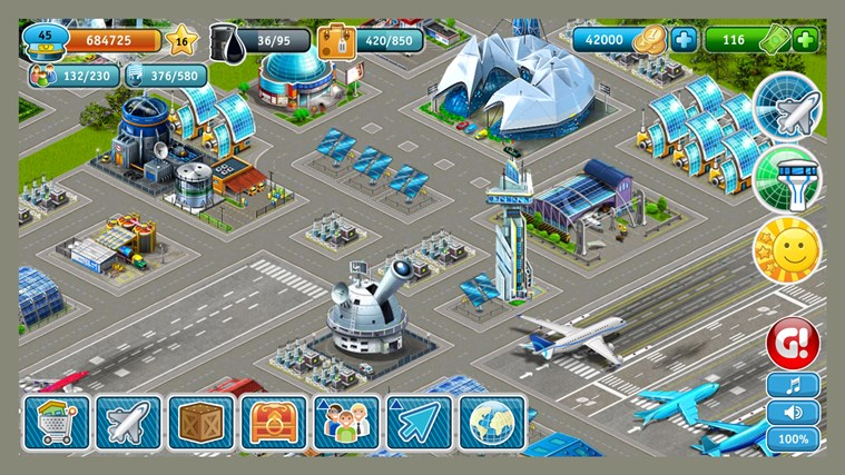Airport City screen shot 5