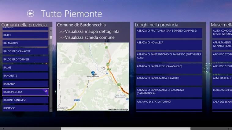 Tutto Piemonte cattura di schermata 1