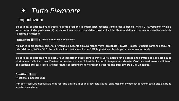 Tutto Piemonte cattura di schermata 7