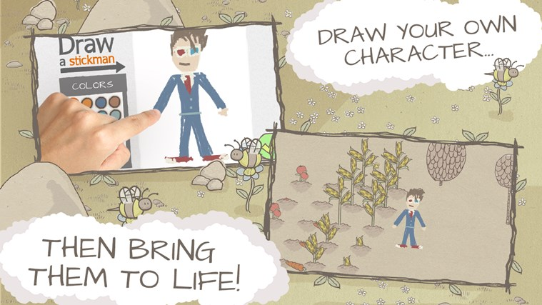 Draw a Stickman: EPIC Free screen shot 1