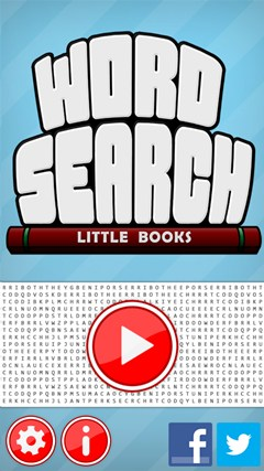 Word Search - Little Books screen shot 1