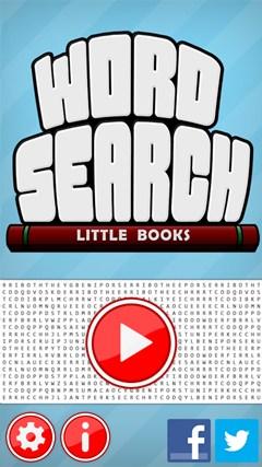 Word Search - Little Books screen shot 1