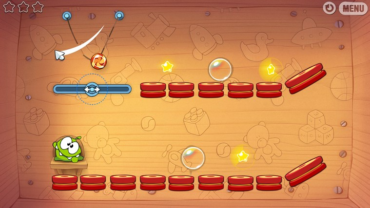 Cut The Rope captura de pantalla 3