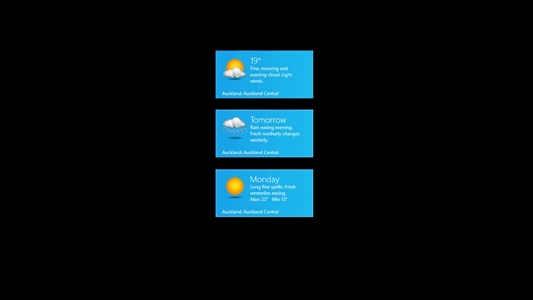 NZ Weather screen shot 7