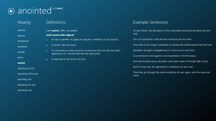 Dictionary.com – Dictionary & Thesaurus screen shot 1
