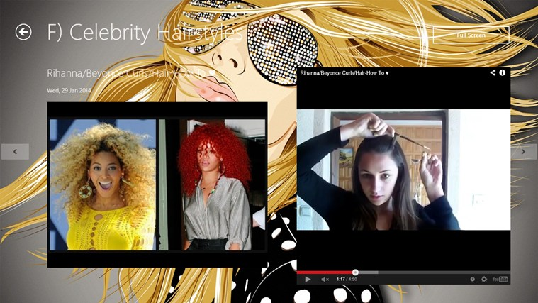 Hairstyle App screen shot 3