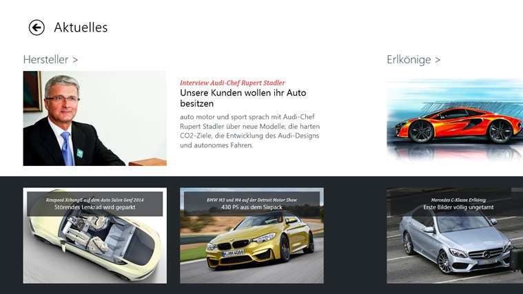 auto motor und sport Screenshot 1