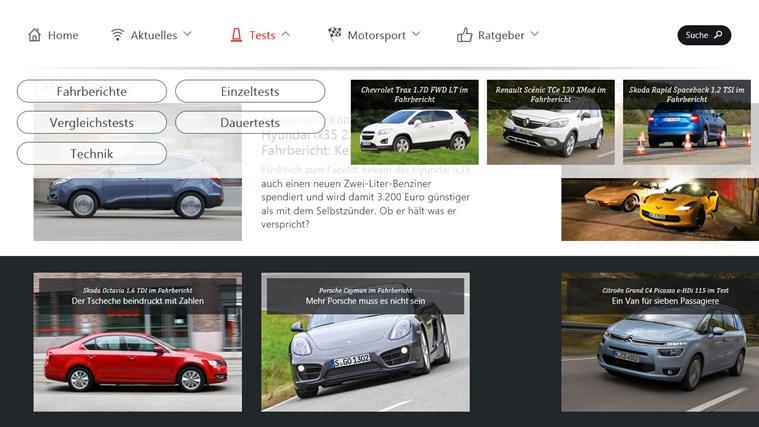 auto motor und sport Screenshot 3