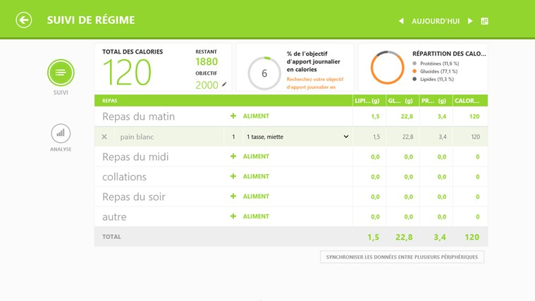 MSN Santé & Forme capture d'écran 3