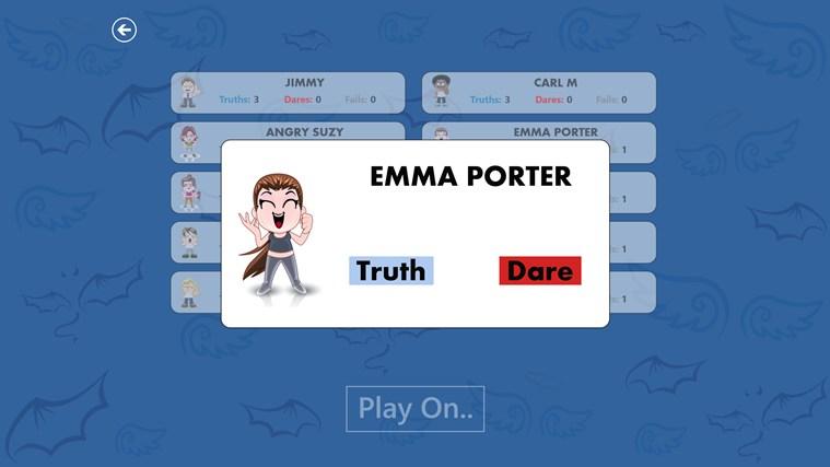 Truth or Dare? screen shot 3