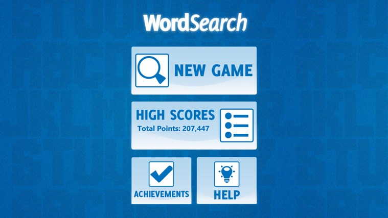 Word Search screen shot 3