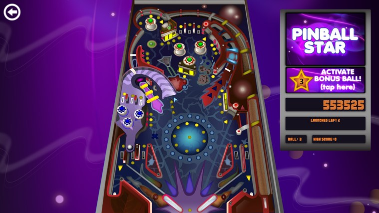 Pinball Star screen shot 1