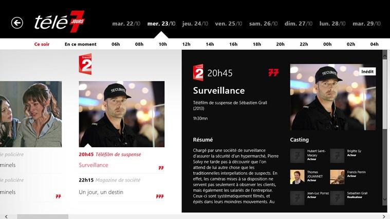 Télé 7 Programme TV capture d'écran 1