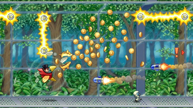 Jetpack Joyride screen shot 1