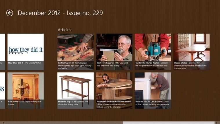 설명 experience fine woodworking america s premier woodworking