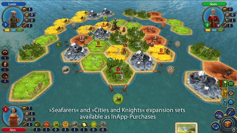 Catan screen shot 3