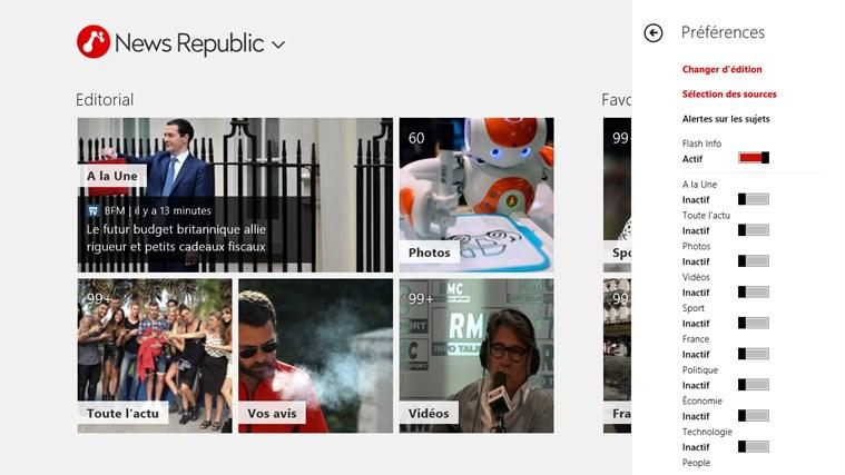 News Republic capture d'écran 1