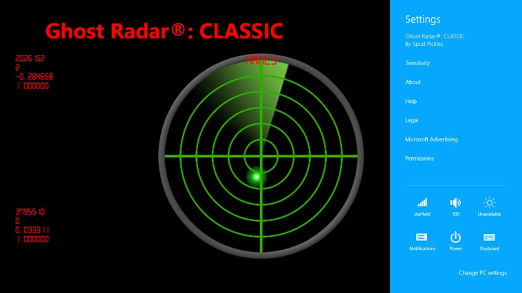 Ghost Radar®: CLASSIC screen shot 1