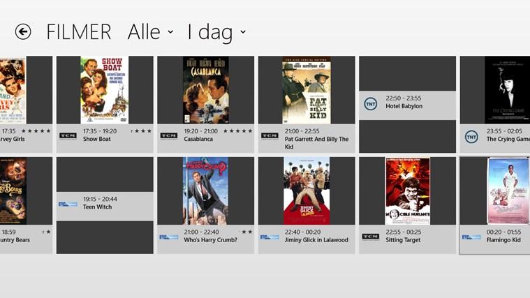 TVGuiden skjermbilde 3
