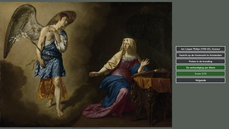 RijksmuseumQuiz capture d'écran 1