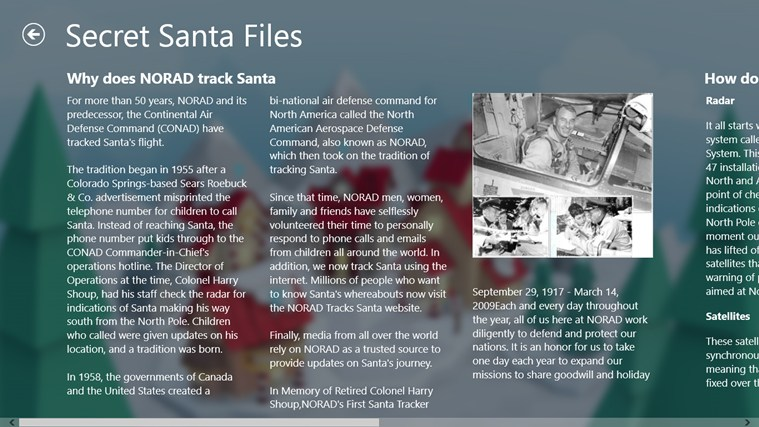 NORAD Tracks Santa screen shot 5