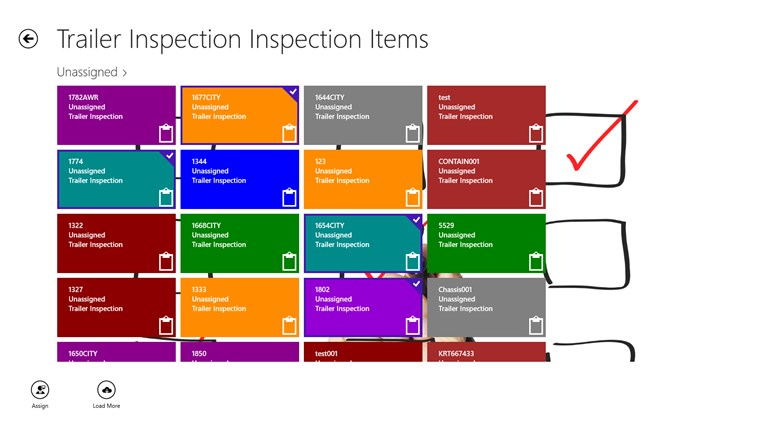 AccellosOne Inspection screen shot 5
