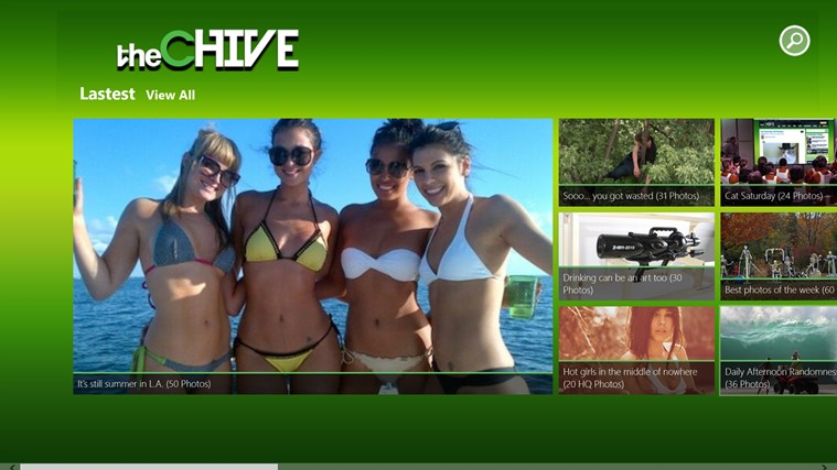 The Chive screen shot 1