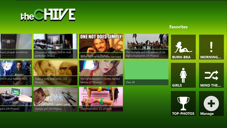 The Chive screen shot 7