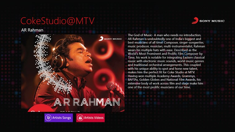 CokeStudio @MTV screen shot 3