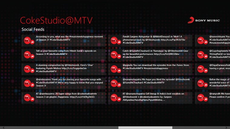 CokeStudio @MTV screen shot 5