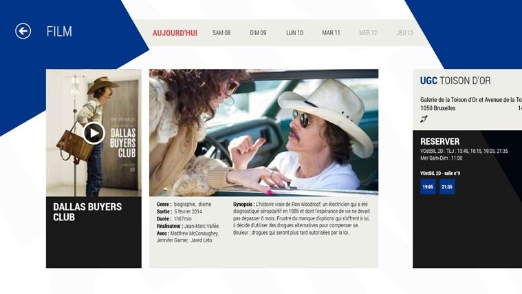 UGC Direct BE capture d'écran 3