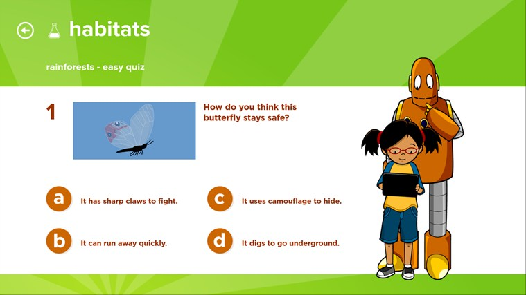 BrainPOP Jr. Movie of the Week screen shot 3