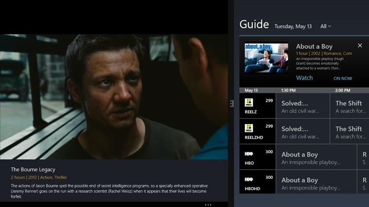 SlingPlayer screen shot 5