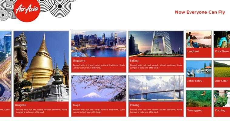 AirAsia capture d'écran 1