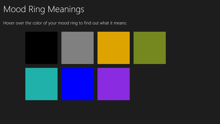 Pics Photos - Mood Ring Color Meanings Buzzle Web Portal Intelligent ...