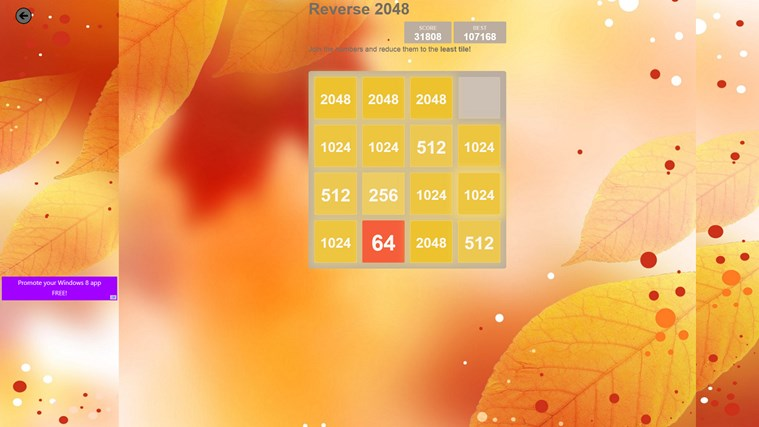 2048 Collection: 12 Game Boards screen shot 5
