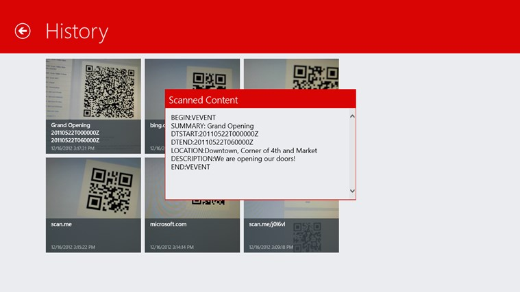 Scan - QR Code and Barcode Reader screen shot 5