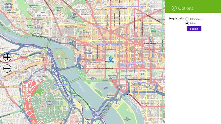 Open Map screen shot 7