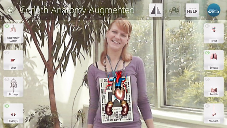 Corinth Micro Anatomy Augmented screen shot 1