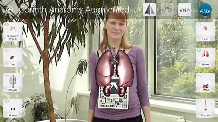 Corinth Micro Anatomy Augmented screen shot 3
